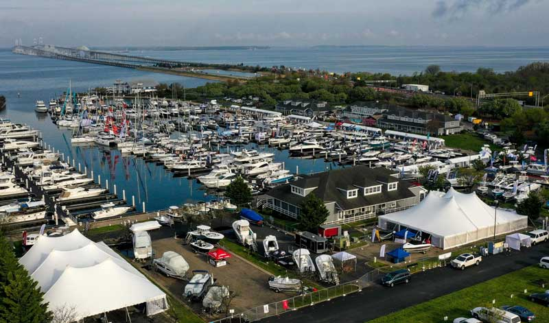 bay bridge boat show