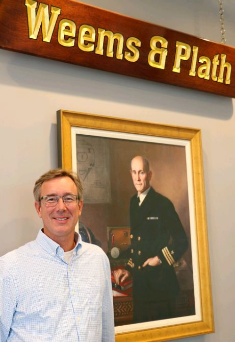 As of September 24, new owner Michael Flanagan has taken the helm of Weems & Plath.