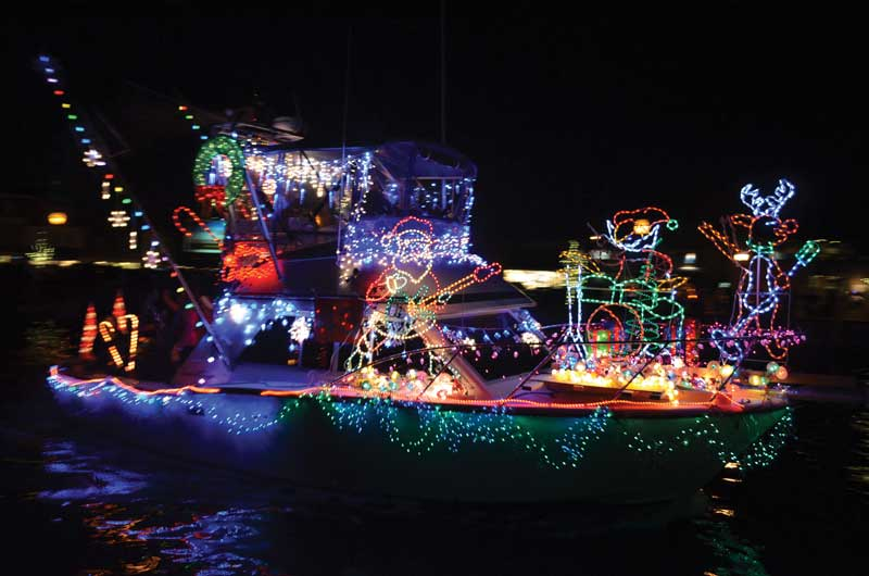 In 2016, the Eastport Yacht Club Lights Parade in Annapolis was voted the number one holiday parade in America! This year's event takes place Decemvber 8. Photo by Shannon Hibberd