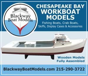 Blackway Boat Models makes Chesapeake Bay Workboat Models and Accessories