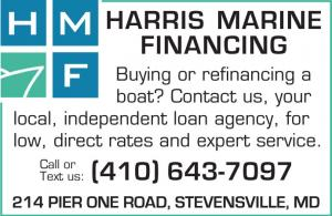 Harris Marine Financing located in Stevensville, MD, can help you buy or refinance a boat.