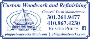 Phipps Boat Works is a marine maintenance facility located at the Herrington Harbour North marina in Tracys Landing, MD.