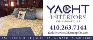 Yacht Interiors of Annapolis provides custom design services, upholstery, carpentry, carpeting, custom bedding, window treatments, and many other interior finishes to a wide range of yachts, sail boats and marine applications