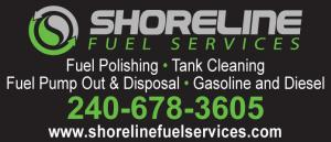 Shoreline Fuel Services has fuel polishing, tank cleaning, fuel pump out and disposal, and gasoline and diesel.