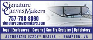 Signature Canvas Makers are the authorized EZ2CY Dealer in Hampton, VA for tops, enclosures, covers, sun fly systems, and upholstery.