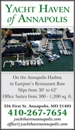 Annapolis Yacht Haven is located on the Annapolis Harbor, in Eastports Restaurant Row.